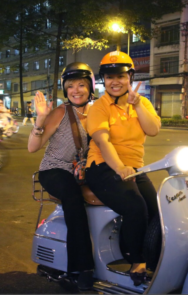 Vintage Vespa & Street Food in Saigon