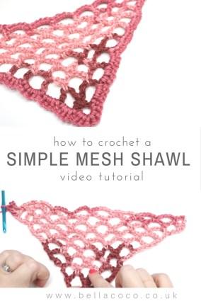 Simple Mesh Shawl