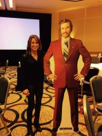 Kristen Crawford and a friend at ProKarma Annual Global Summit