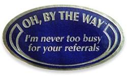 Lame handout sticker