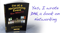 Sandy wrote a book on networking - available on Amazon and iTunes