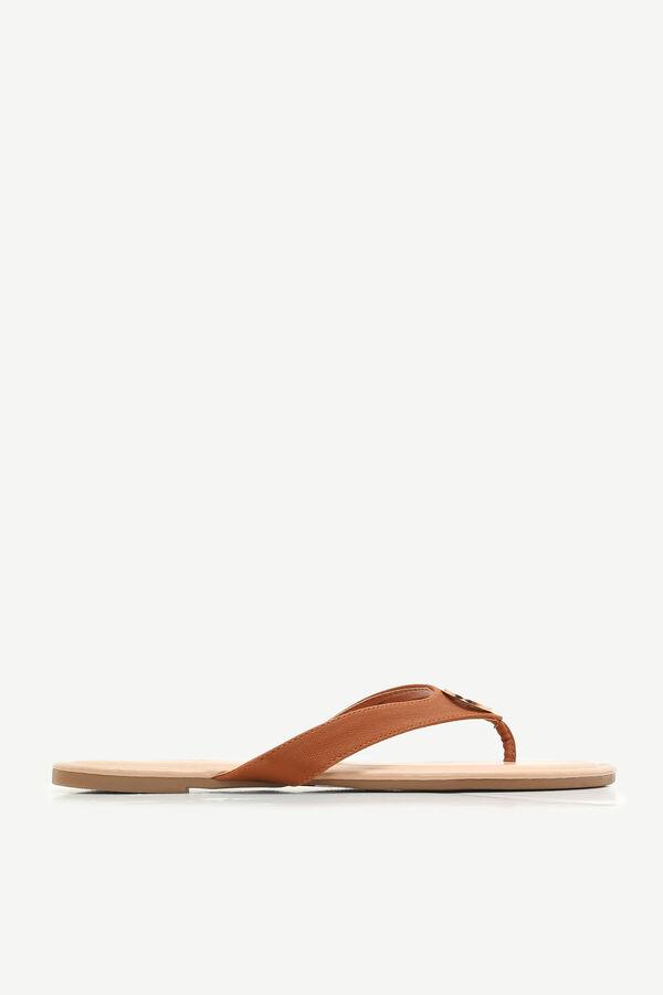 Ardene Medallion Slippers - Tan