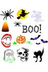 Halloween Airbrush Tattoos