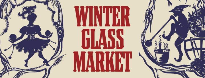 Come and see Bella Groove at the Winter Glass Market
