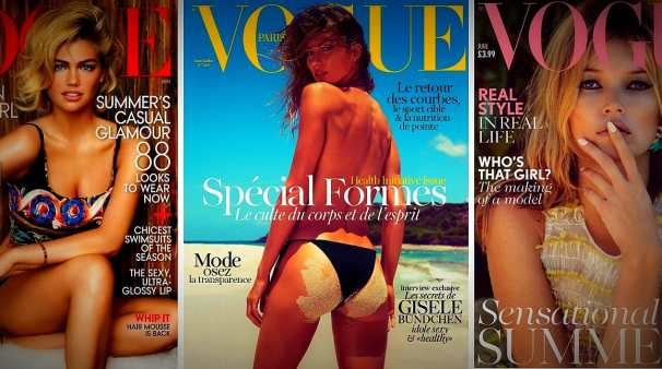 BellaHelena News Vogue Paris Magazine Kate Upton Kate Moss