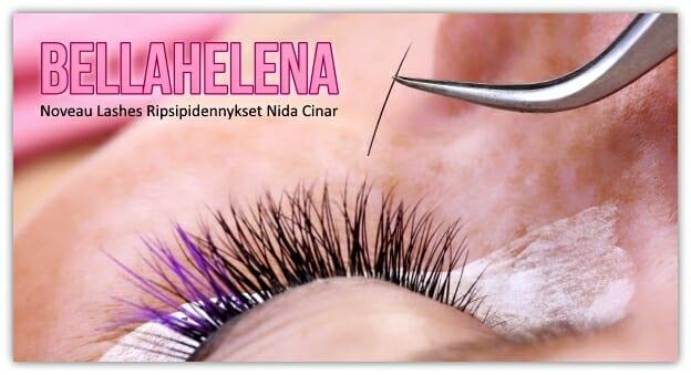 BellaHelena Oulu ripsipidennykset 2014 Nida Cinar SKY-kosmetologi tule