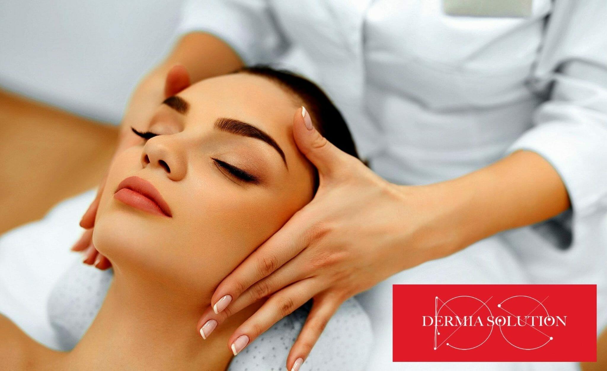 Dermia Solution Anti-Age Kasvohoito Skinfaktor-laitteilla
