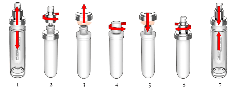 refill instructions small numbers - Dermia Solution Kasvohoito Tekee Ihmeitä