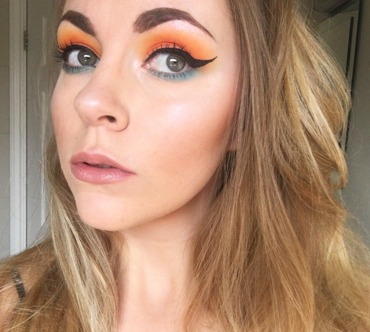 Sunset Eye Tutorial   Collab with The Happy Diary