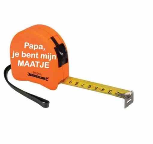Rolmaat - Papa opa je bent mijn maatje - vaderdag cadeau - Cadeau opa - Cadeau papa - Gepersonaliseerd cadeau