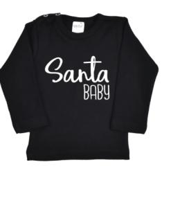 Shirt | Santa Baby - Kerst