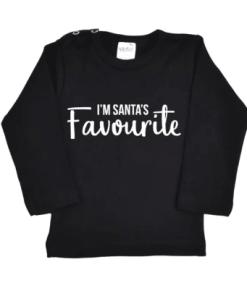 Baby Shirt | Santa's Favourite