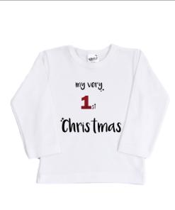 Shirt - My first christmas - Babyshirt