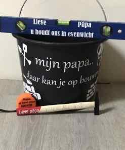 Geschenk set - Bouwen - Opa - Papa