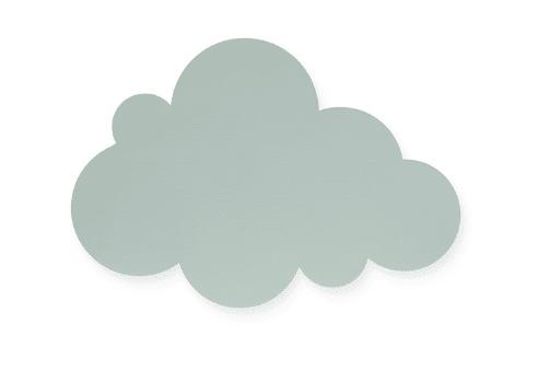 Wandlamp - Wolk - Regenboog - Jollein