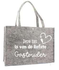 Boodschappen tas - Gastouder - Shopper - Voor de liefste