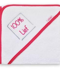 Badcape - 100% stoer/lief - Romper - Slabben - Gepersonaliseerd met tekst - Kraam cadeau - Bella Kids - Badcape