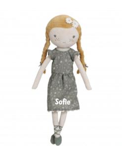 Little Dutch Knuffelpop Julia 35cm - met naam - Geboorte cadeau - Kraam cadeau - Naam cadeau - Naam kado - Pop met naam