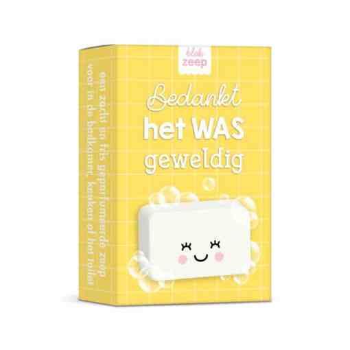 bedankt, het WAS geweldig (geel) | zeep | Gepersonaliseerde hand zeep| Gepersonaliseerd cadeau| Zeep cadeau| Bella Kids