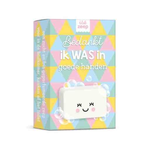 bedankt, ik WAS in goede handen | zeep | Gepersonaliseerde hand zeep| Gepersonaliseerd cadeau| Zeep cadeau| Bella Kids