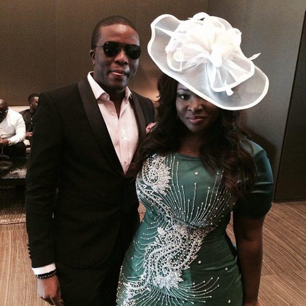 "Couple Flow Toolz Demuren 600x600 Tiwa Savage & Tunji ""Tee Billz"" Balogun's Star Studded Dubai Wedding! Celebs & Gorgeous Guests"
