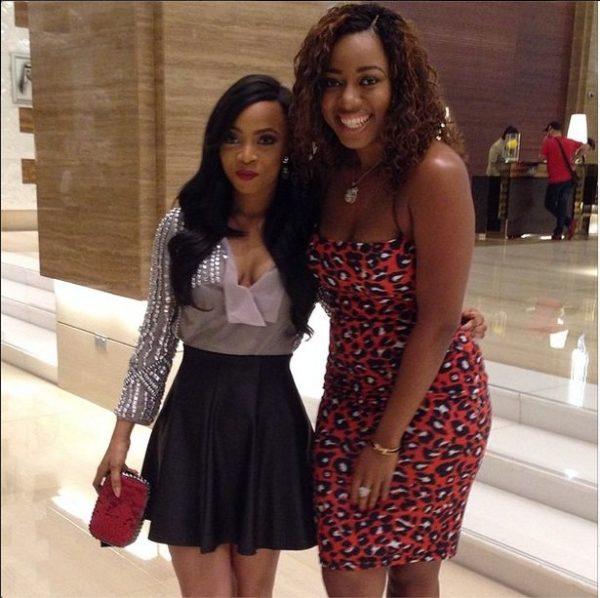 Toke Makinwa & Lilian Unachukwu