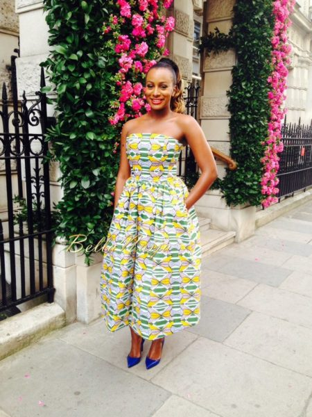 DJ Cuppy in Stella Jean - June 2014 - BellaNaija.com 02