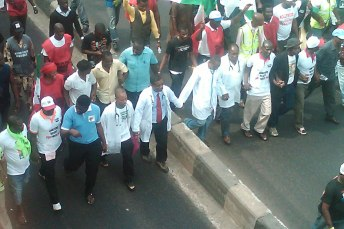 Image result for LUTH health workers shut down hospital