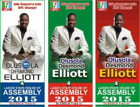 2014 Election: Desmond Elliot Lagos State - ozara gossip