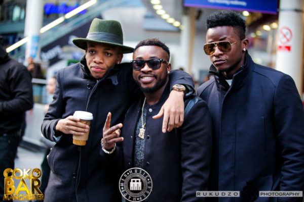 IMG 1993 600x400 Iyanya, Tekno, Selebobo, Emma Nyra & Ubi Franklin Take the Streets in Style as UK Tour Begins