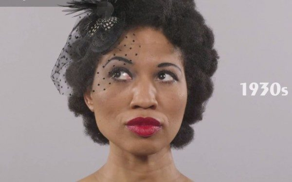 From 1920s Vintage Curl To 1990s Box Braids Go Through