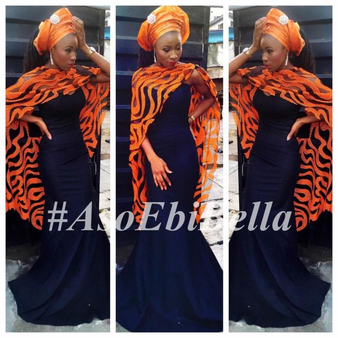 outfit by @t16worldoffashion, makeup by @yesitlarry-aso ebi, asoebi