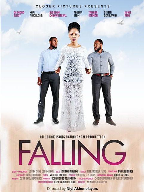 Falling Nollywood Movie Adesua Etomi 1