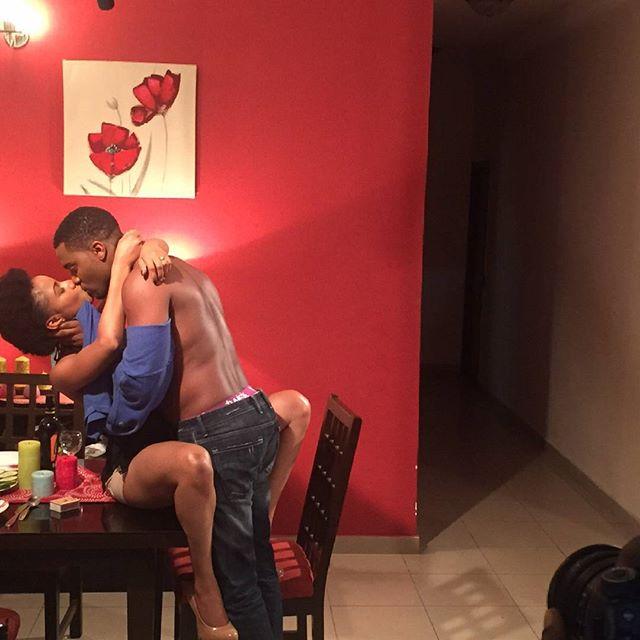 Falling Nollywood Movie Adesua Etomi 3