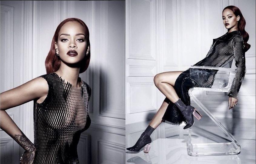 Rihanna x Dior gorgeoustrends september