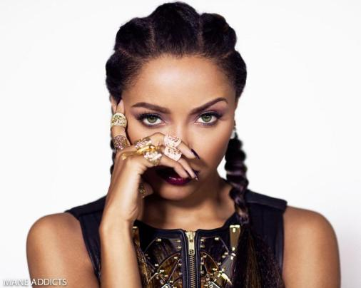 Kat Graham for Mane Addicts October 2015 Edition - BellaNaija - October 2015002