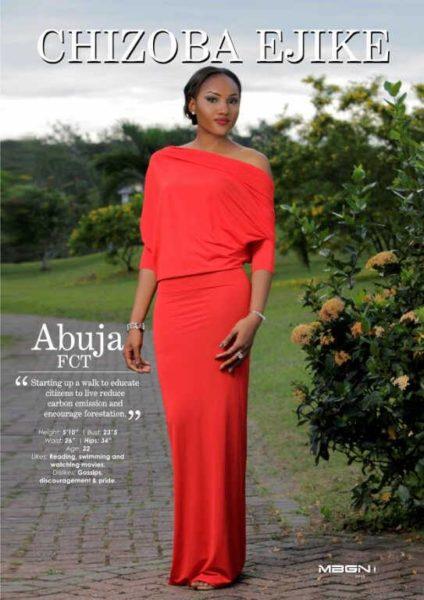 Runner Up Miss Abuja