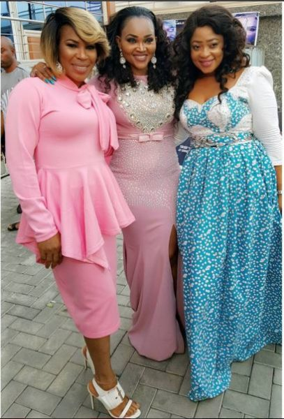 Faithia Williams, Mercy Aigbe-Gentry & Bidoun Okeowo