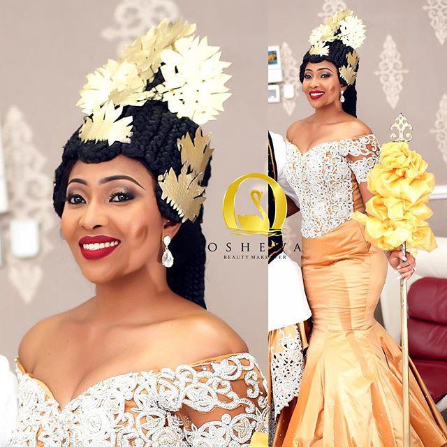 Oshewa Beauty Lilian Esoro Wedding BN