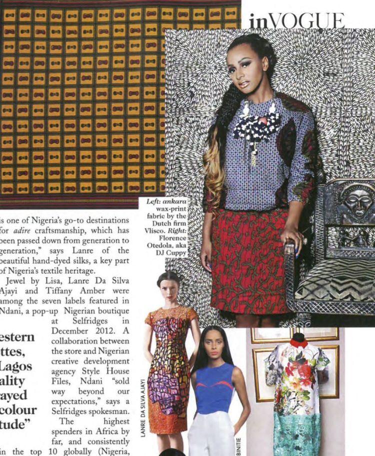 Temi Otedola and DJ Cuppy in Vogue December 2015 - BellaNaija - November2015002