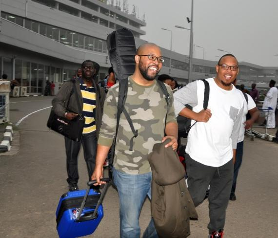 The Experience 2015 Airport Arrival 4