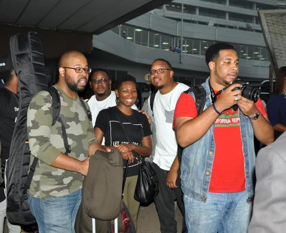 The Experience 2015 Airport Arrival 5