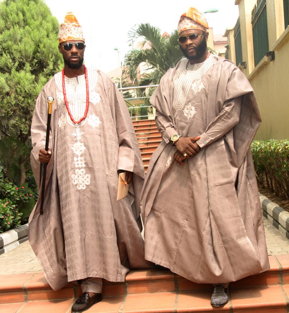Dokun Olumofin and Joro Olumofin at Toolz and Tunde Demuren Traditional Wedding_1