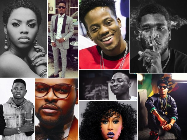 Guardian's Top Artistes under 25 in 2016