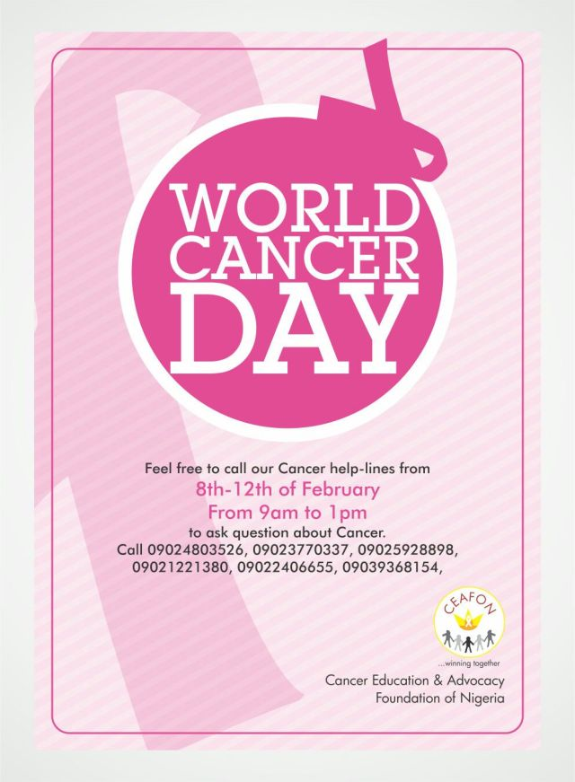 CEAFON World Cancer Day Event