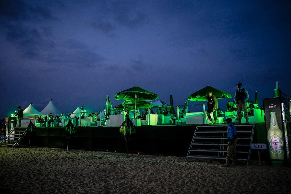 #Heineken VIP lounge