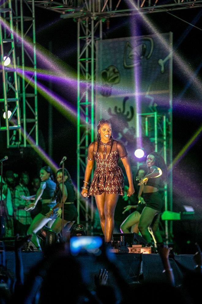 Tiwa Savage at #HeienkeGidiFest