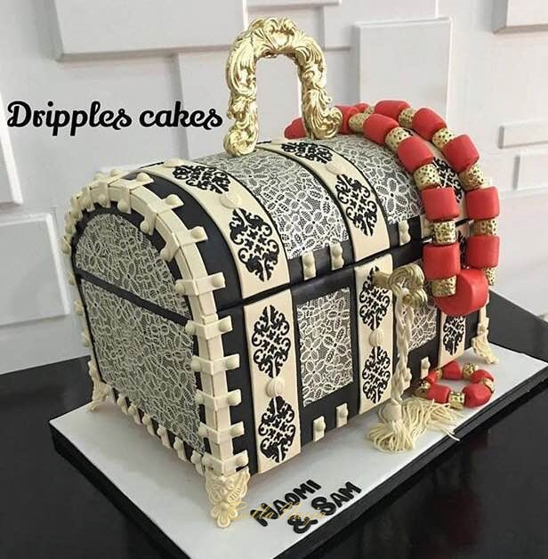 Nigerian Wedding cakes