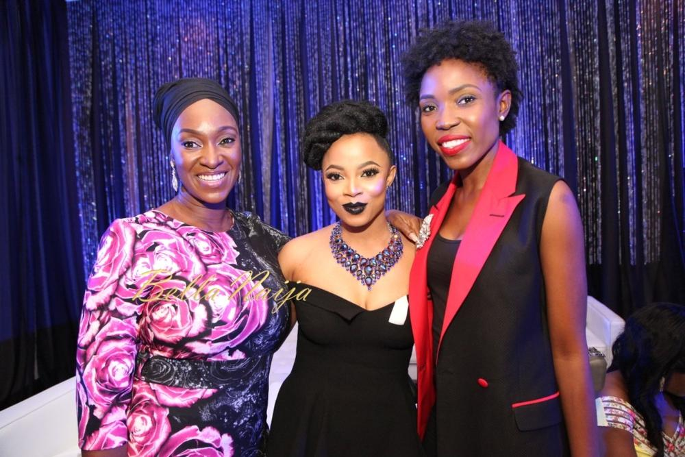 Funlola Aofiyebi Raimi, Toke Makinwa and Kemi Adedoju