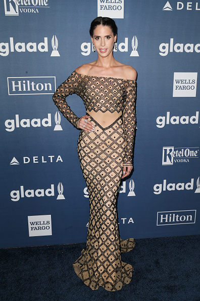 Carmen Carrera attends the 27th Annual GLAAD Media Awards at the Beverly Hilton Hotel on April 2, 2016 in Beverly Hills, California.